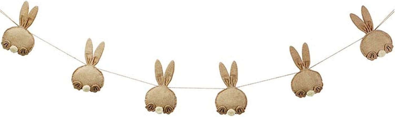Burlap Bunny Butt Garland