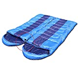 AYAMAYA Zero Degree Sleeping Bags for Adults Backpacking Camping, Envelope Lightweight Compact Camping Sleeping Bag with Compression Bag for 4 Season 0 Degree Spring for Dad For Sale