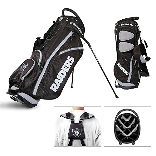 NFL Fairway Stand Bag NFL Team: Oakland Raiders by Team Golf