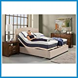SPLIT QUEEN ADJUSTABLE BED by LEGGETT AND PLATT and 10'' GEL MEMORY FOAM MATTRESSES ~~ NEW ~
