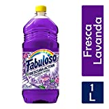 Fabuloso Limpiador Liquido Antibacterial, Lavanda Multiusos, 1 L