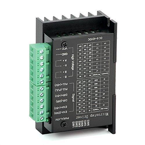 hiletgo Newest 4 A TB6600 eje motor paso a paso conductor módulo controlador para 57byg250h Motor: Amazon.es: Amazon.es