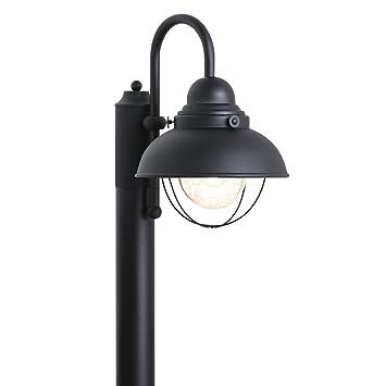 Sea gull lighting 8269 12 sebring one light outdoor post lantern sea gull lighting 8269 12 sebring one light outdoor post lantern with clear seeded aloadofball Images
