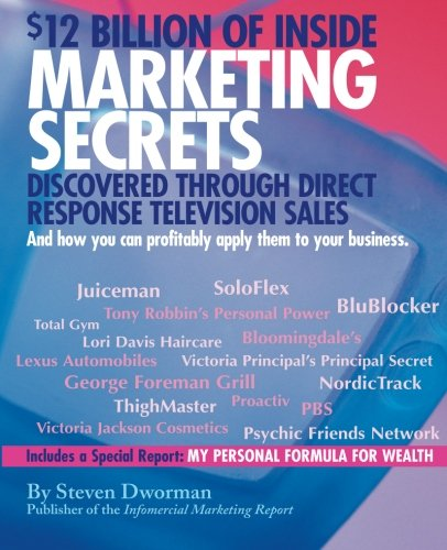 $12 Billion of Inside Marketing Secrets Discovered Through Direct Response Television Sales