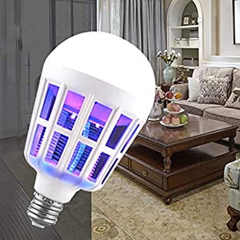 Bombilla de luz led para matar mosquitos jaula de pájaros lámpara ...