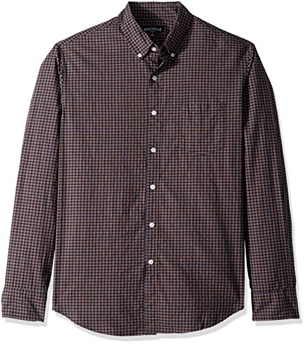 J.Crew Mercantile Men's Slim-Fit Long-Sleeve Tattersall for sale  Delivered anywhere in USA