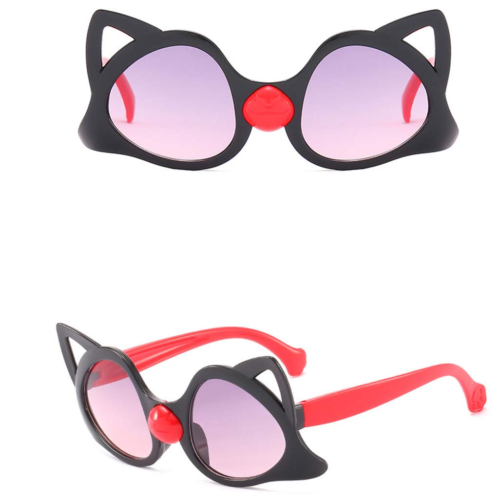 Holata Children Vintage Eye Sunglasses Retro Eyewear Fashion Radiation Protection
