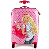 Barbie Polycarbonate Hard Shell Spinner Luggage Case