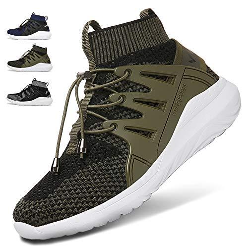 WETIKE Kids Shoes Boys Girls Sneakers Lightweight ()