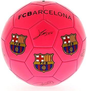 SELECCION DRIM F.C. Barcelona Balón de Fútbol Rosa: Amazon.es ...