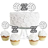 Bump, Set, Spike - Volleyball - Dessert Cupcake