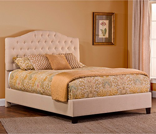 Hillsdale Jamie Upholstered Bed, Low Profile Footboard, King