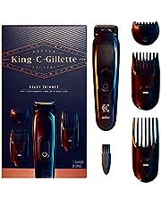 King C. Gillette Draadloze Baardtrimmer kit Voor Heren - Trimmer met 3 kamopzetstukken