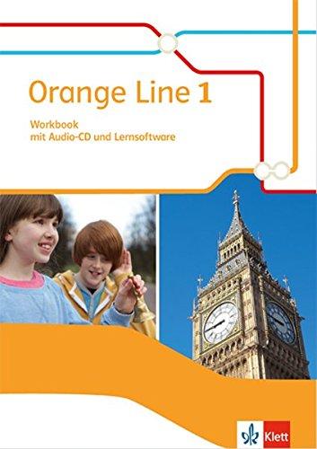 Orange Line 1: Workbook mit Audio-CD und Lernsoftware Klasse 5 (Orange Line. Ausgabe ab 2014)