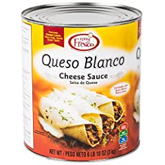 Smooth and creamy, this Muy Fresco queso blanco mild white cheese sauce can be used time and time again for a variety of recipes! Its mild flavor and creamy texture makes it a versatile ingredient to stock your commercial kitchen, while its a...
