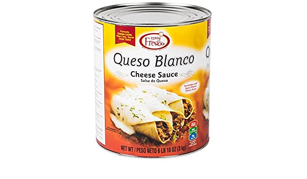 Amazon.com: Muy Fresco Queso Blanco Mild White Cheese Sauce #10 Can By TableTop King: Beauty