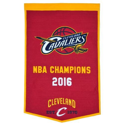 Cleveland Cavaliers NBA Finals Championship Dynasty Banner - with hanging rod