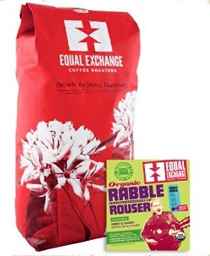 Equal Exchange USDA Organic Rabble Rouser, Whole Beans, 5 - Exchange Equal 80
