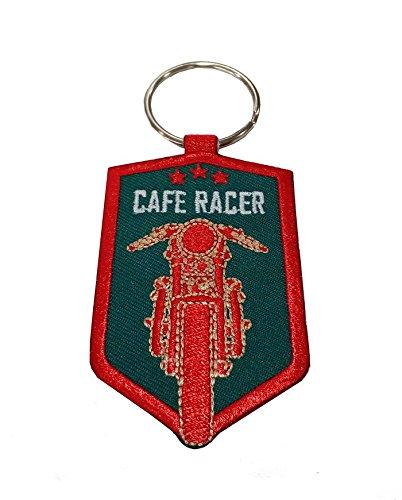 Moto Discovery Cafe Racer Shield Llavero Doble Cara: Amazon ...