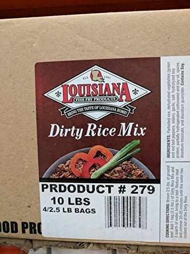 Louisiana Dirty Rice Mix 2.5 Lb (4 Pack)