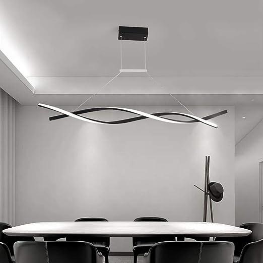 KBEST Lámpara Colgante LED/Araña De Techo De Mesa Comedor ...