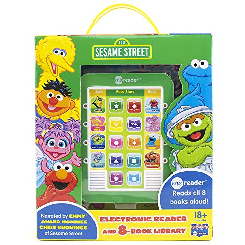 Seasame Street me reader 8-book Library (Furry Chef, Take a Hike, An Abby Tale, Elmos Band, Wizard School, Dusty Duo, Up Late w