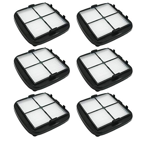 SaferCCTV 6pcs Replacement 203-7416 Pet Hair Eraser Hand Vac Filter for Bissell 33A1, 47R5, 35V4, 97D5, 203-1432 Series Vacuum Cleaner