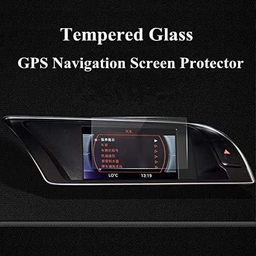 6.5インチ強化ガラスGPSナビゲーション画面プロテクターfor Audi a4?a5?s5?2008???2015 BONGZUO