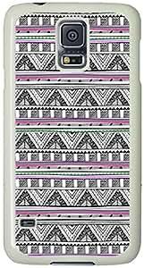 Tribal Pattern Samsung Galaxy S5 Case with White Skin by icecream design