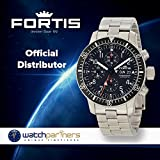 """Fortis Men's 638.10.11M B-42 """"Official Cosmonauts"""" Stainless Steel Automatic Watch"""