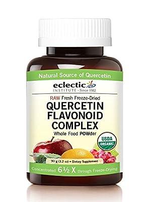 Quercetin Flavonoid Complex Eclectic Institute 3.2 oz (90 g) Powder