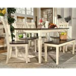 Signature Design by Ashley Whitesburg Dining Room Table, Brown/Cottage White