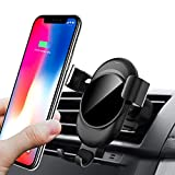 Lamyik Car Phone Holder,Gravity Auto-clamping Air Vent Car Mount Holder Cradle for iPhone X/8/8 Plus/7/7 Plus Samsung Galaxy S9/S9 Plus/S8/S8 Plus and other Smartphones