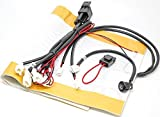 Sports Imports LLC Universal Carbon Fiber Dual Temp Seat Heater Installation Kit