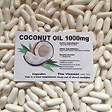 The Vitamin Organic Virgin Coconut Oil 1000mg 180 capsules FREE POSTAGE (L)