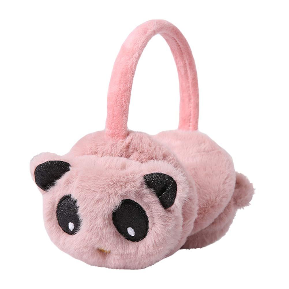 Metzuyan Girls Adjustable One Size Fluffy 3 Pack Earmuffs