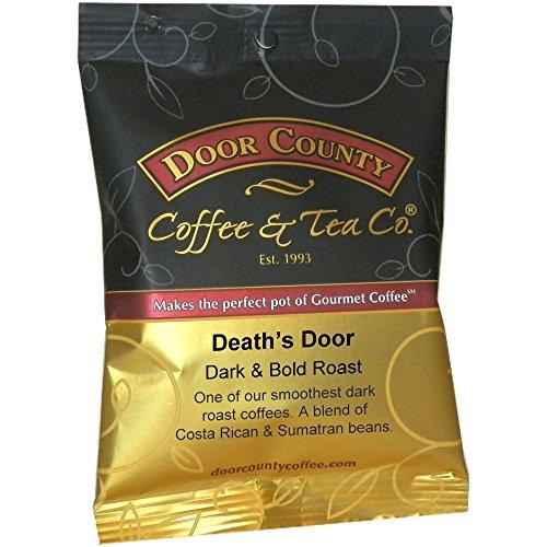 Door County Coffee, Death's Door, Ground, 1.5oz Full-Pot Bag