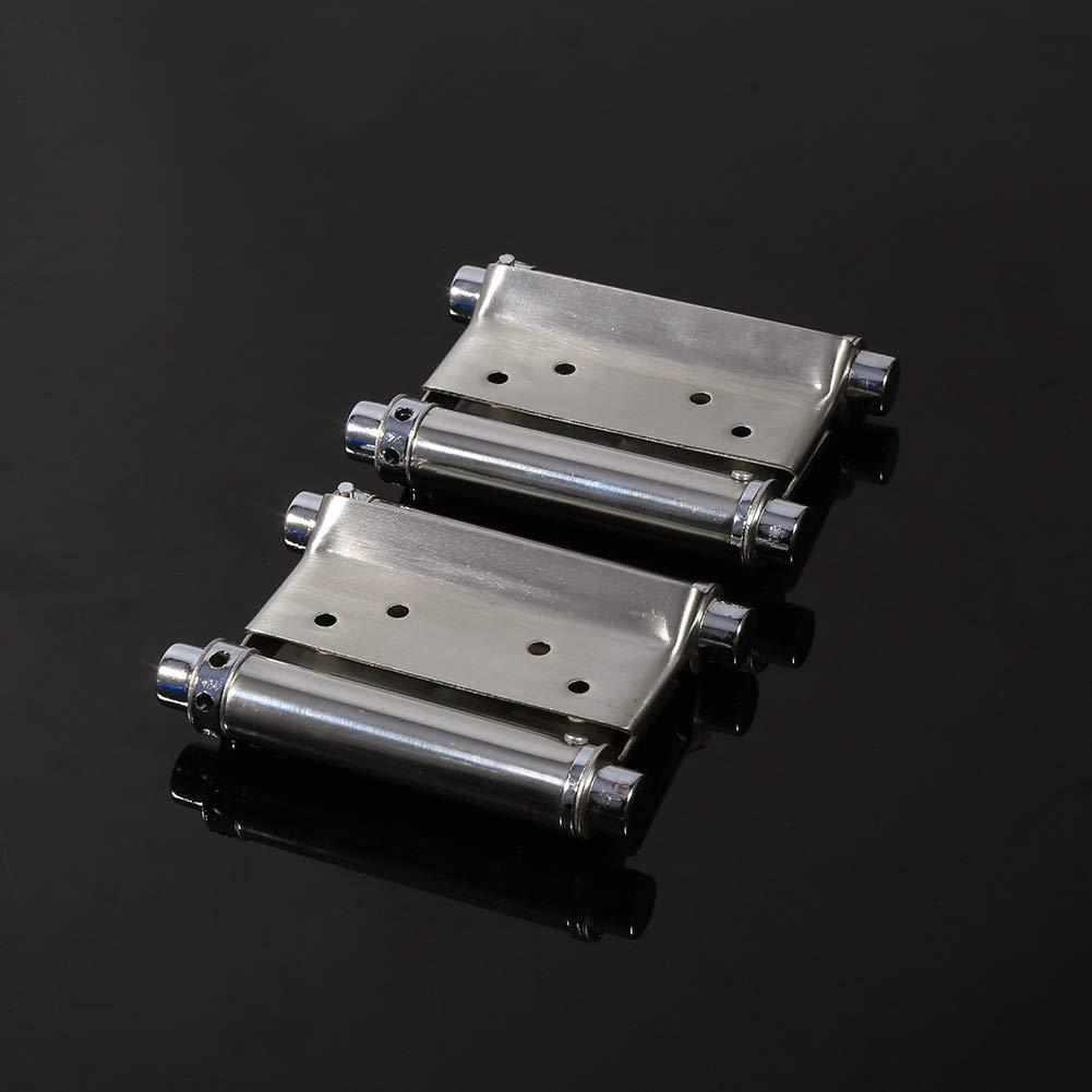 Hinge Stainless steel,2Pcs 3 Inch Double Action Spring Hinge Saloon Cafe Door Swing Door