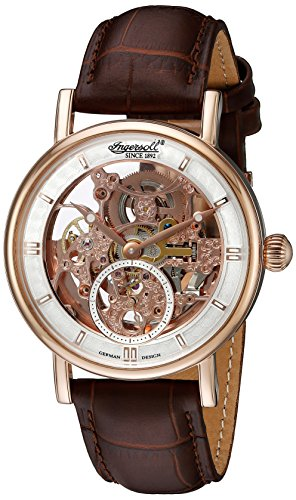 Ingersoll Men's IN1918RSL Nez Perce Analog Display Automatic Self Wind Brown Watch