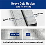 WORKPRO Heavy Duty T50 Staples and Brad Nails Combo Kit, 7500-Count