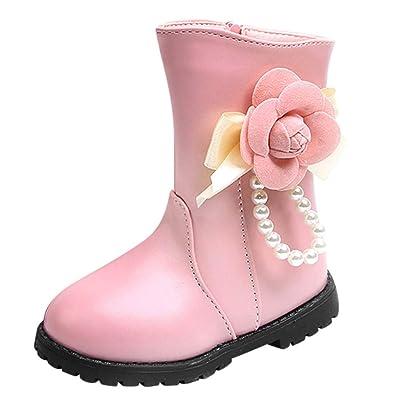 new style 111b9 62b3b MCYs Kinder Baby Mädchen Warme Stiefel Winter Schuhe Plus ...