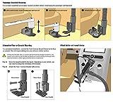 Arkon Mounts TAB188L22 Car or Truck Seat Rail or