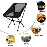 Trekology YIZI Go Portable Camping Chair Adjustable Height - Compact Ultralight Folding Backpacking Chairs in a Carry Bag, Heavy Duty 300 lb Capacity Hiker, Camp, Beach, Outdoor