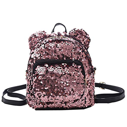 Beautiful Sequins - Fashion Lady Sequins School Backpack Satchel Girls Student Travel Shoulder Bag,Outsta 2019 Deals! Fashion Bags