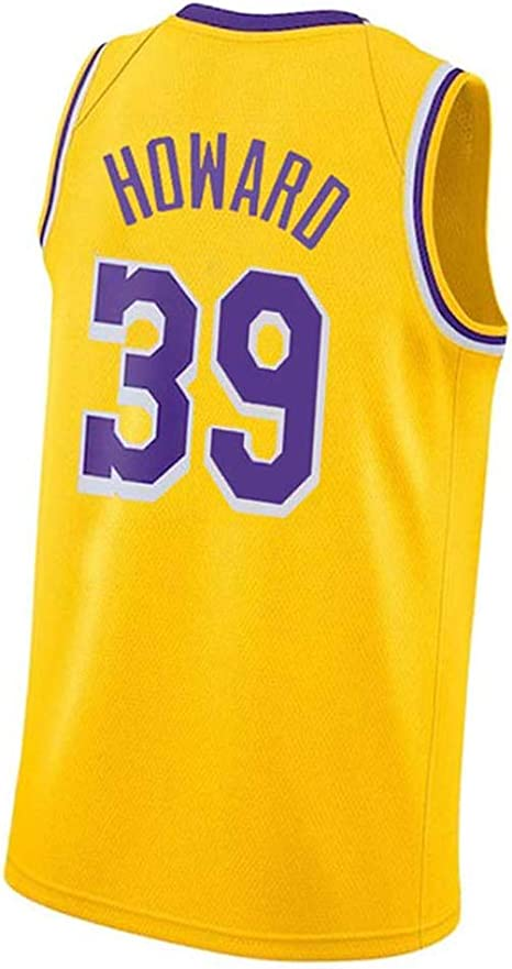 AJSYPD # 39 Howard Lakers Baloncesto Jersey Hombres Chaleco ...