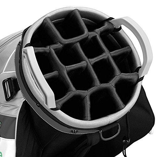 TaylorMade Cart Lite Ladies Bag (Light Gray/White) (Light Gray/White)