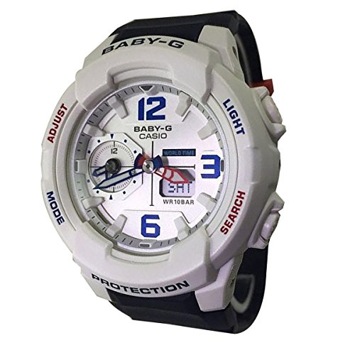 Casio Baby-G BGA230SC-7B Shock Resistant White Blue Womens Watch