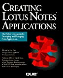 img - for Creating Lotus Notes Applications (Programming series) by Lisa Pyle (1994-03-03) book / textbook / text book