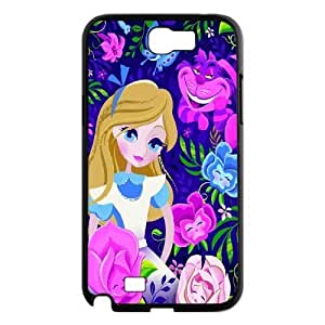 James-Bagg Phone case Alice in Wonderland Protective Case For Samsung Galaxy Note 2 Case Style-13