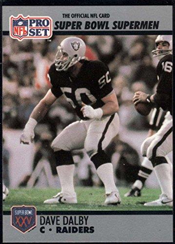 - Football NFL 1990-91 Pro Set Super Bowl 160 #70 Dave Dalby NM-MT